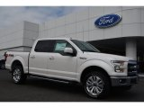 2015 White Platinum Tricoat Ford F150 Lariat SuperCrew 4x4 #103937741