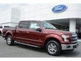 2015 Bronze Fire Metallic Ford F150 Lariat SuperCrew #103937740