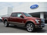2015 Bronze Fire Metallic Ford F150 King Ranch SuperCrew 4x4 #103937739