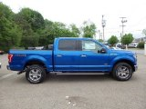 2015 Blue Flame Metallic Ford F150 XLT SuperCrew 4x4 #103937638