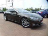 2013 Brown Metallic Tesla Model S  #103937365