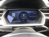 2013 Tesla Model S  Gauges