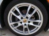 Porsche Boxster 2014 Wheels and Tires