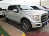 2015 Ingot Silver Metallic Ford F150 Lariat SuperCrew 4x4 #103975595
