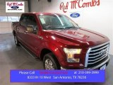 2015 Ruby Red Metallic Ford F150 XLT SuperCrew #103975586