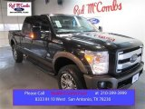2015 Tuxedo Black Ford F250 Super Duty King Ranch Crew Cab 4x4 #103975584