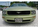 2005 Legend Lime Metallic Ford Mustang V6 Deluxe Coupe #103975943