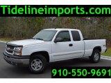 2003 Summit White Chevrolet Silverado 1500 LT Extended Cab 4x4 #103975942