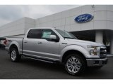 2015 Ingot Silver Metallic Ford F150 Lariat SuperCrew 4x4 #103975740