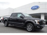 2015 Tuxedo Black Metallic Ford F150 XLT SuperCrew #103975737