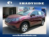 2012 Basque Red Pearl II Honda CR-V LX 4WD #104006901