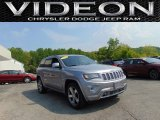 2014 Billet Silver Metallic Jeep Grand Cherokee Overland 4x4 #104007071
