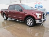 2015 Bronze Fire Metallic Ford F150 XLT SuperCrew #104006871