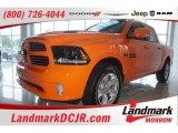 2015 Ignition Orange Ram 1500 Sport Crew Cab #104038882