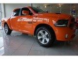 2015 Ram 1500 Ignition Orange