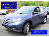 2012 Twilight Blue Metallic Honda CR-V LX 4WD #104038738