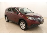 2012 Basque Red Pearl II Honda CR-V EX-L 4WD #104039034