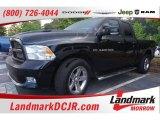 2012 Black Dodge Ram 1500 Sport Quad Cab #104038905