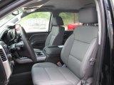 2015 Chevrolet Silverado 1500 LTZ Z71 Crew Cab 4x4 Jet Black Interior