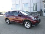 2012 Basque Red Pearl II Honda CR-V EX 4WD #104062154