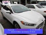 2013 Oxford White Ford Fusion S #104061893