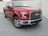2015 Ruby Red Metallic Ford F150 XLT SuperCrew 4x4 #104062056