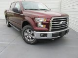 2015 Bronze Fire Metallic Ford F150 XLT SuperCrew 4x4 #104062055