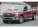 2015 Ruby Red Metallic Ford F150 XLT SuperCrew 4x4 #104096078