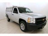 2013 Silver Ice Metallic Chevrolet Silverado 1500 LS Regular Cab #104096272