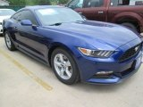 2015 Deep Impact Blue Metallic Ford Mustang V6 Coupe #104095959