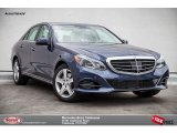 2016 Indigo Blue Metallic Mercedes-Benz E 350 Sedan #104161164