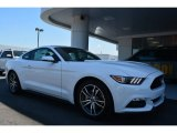 2015 Oxford White Ford Mustang EcoBoost Coupe #104161296