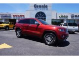 2014 Deep Cherry Red Crystal Pearl Jeep Grand Cherokee Limited #104161343