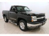 2005 Black Chevrolet Silverado 1500 Z71 Regular Cab 4x4 #104161475
