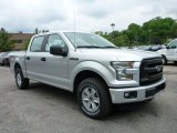 2015 Ingot Silver Metallic Ford F150 XL SuperCrew 4x4 #104161272