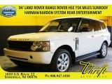 2004 Chawton White Land Rover Range Rover HSE #104161050