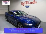 2015 Deep Impact Blue Metallic Ford Mustang GT Coupe #104198525