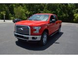 2015 Race Red Ford F150 XLT SuperCrew 4x4 #104198655