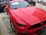 2015 Race Red Ford Mustang V6 Coupe #104198535
