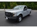 2015 Ingot Silver Metallic Ford F150 XL Regular Cab #104198650