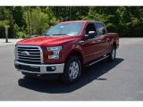 2015 Ruby Red Metallic Ford F150 XLT SuperCrew 4x4 #104198646