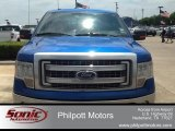 2014 Blue Flame Ford F150 XLT SuperCrew #104198620