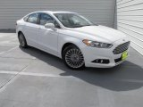 2015 Oxford White Ford Fusion Titanium #104198605