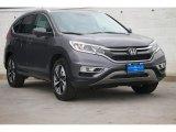 2015 Modern Steel Metallic Honda CR-V Touring #104219185
