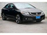 2015 Crystal Black Pearl Honda Civic Si Sedan #104219183