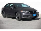 2015 Modern Steel Metallic Honda Civic EX Sedan #104219180