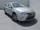 2015 Celestial Silver Metallic Toyota Camry LE #104224432