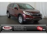 2015 Basque Red Pearl II Honda CR-V EX #104224376