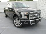 2015 Tuxedo Black Metallic Ford F150 Platinum SuperCrew 4x4 #104230264
