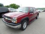 2004 Sport Red Metallic Chevrolet Silverado 1500 Z71 Crew Cab 4x4 #104230169